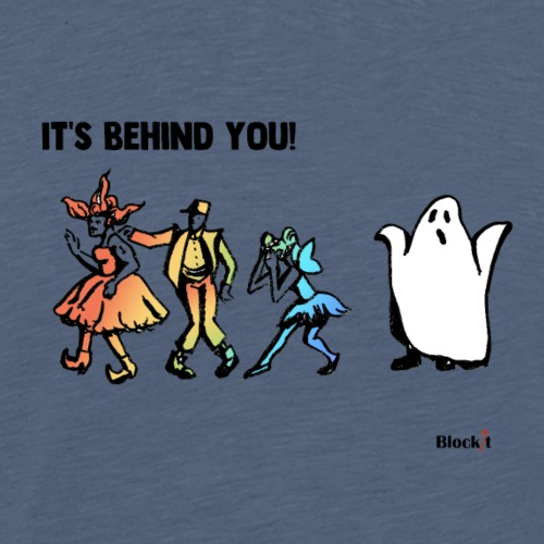 Its Behind You - Men's Premium T-Shirt