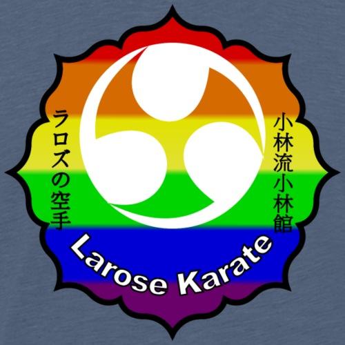 Larose Karate Rainbow Logo