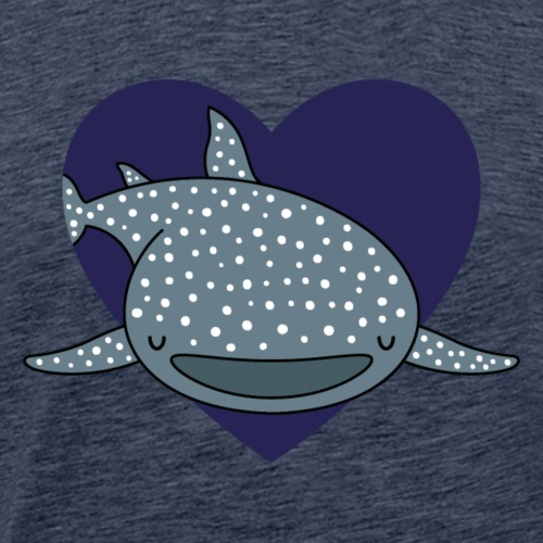 Whale Shark Love - Men's Premium T-Shirt