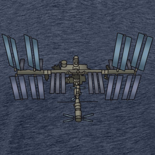 Space station ISS - Men's Premium T-Shirt