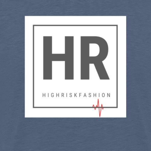HR - HighRiskFashion Logo Shirt - Men's Premium T-Shirt