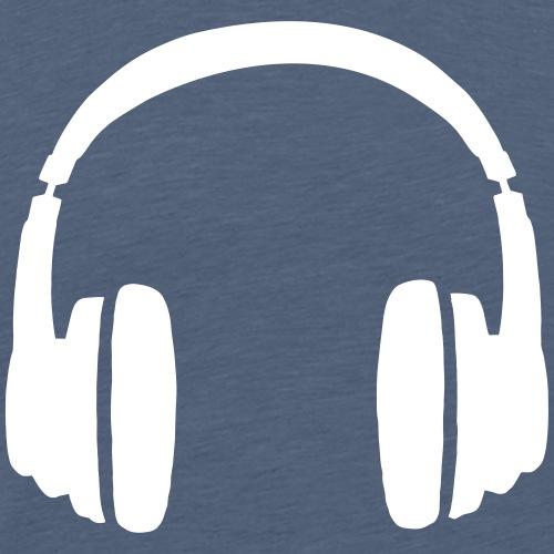 Deejay Headphones - Men's Premium T-Shirt