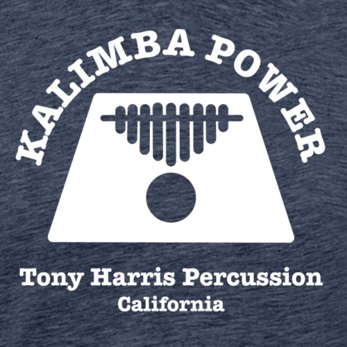 Kalimba Power Tony Harris Percussion w - Men's Premium T-Shirt