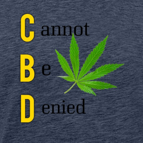 CBD - Men's Premium T-Shirt