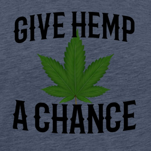 Give Hemp A Chance - Men's Premium T-Shirt