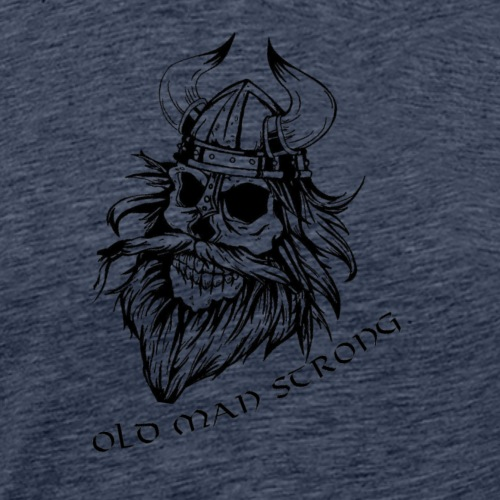 Old Man Strong Viking - Men's Premium T-Shirt