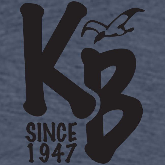Kure Beach Day-Black Lettering-Front and Back