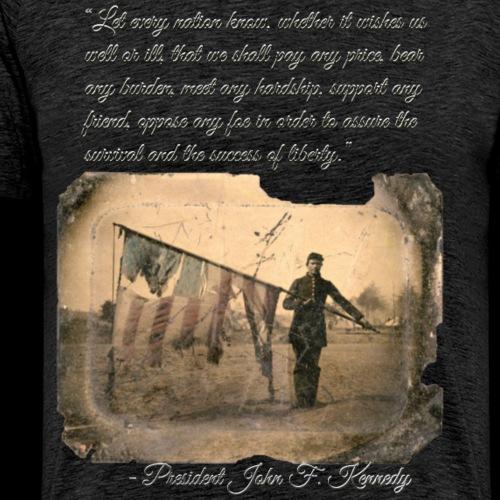 Securing the success of liberty - Men's Premium T-Shirt