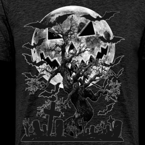 Haunted Cemetery - Men's Premium T-Shirt