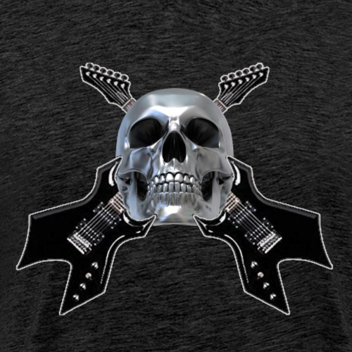 MetalHead #2 - Men's Premium T-Shirt