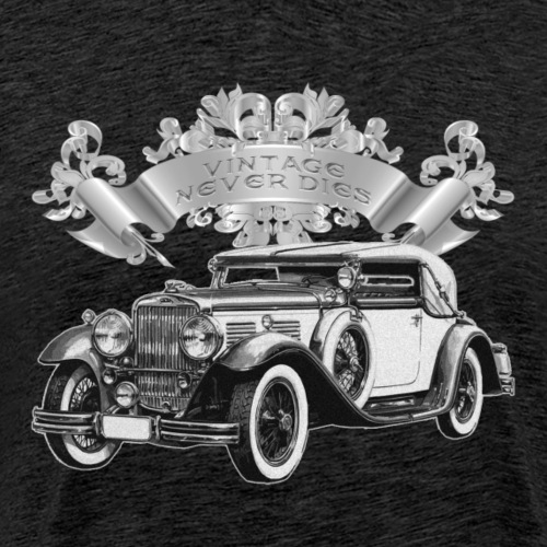 Vintage Never Dies #2 - Men's Premium T-Shirt