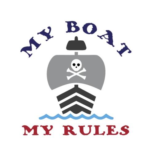 My Boat My Rules - Men's Premium T-Shirt