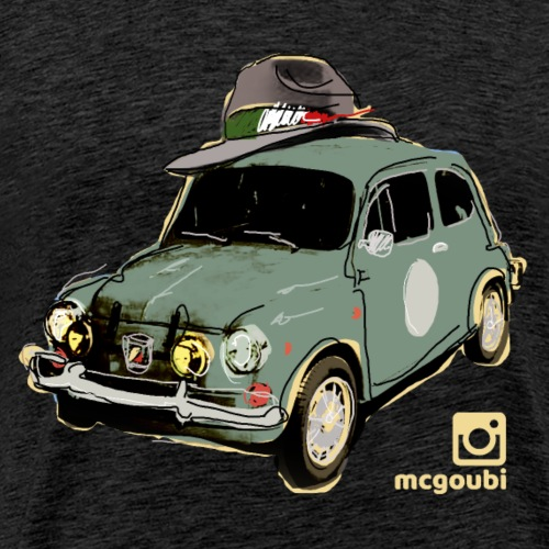 Fiat 600 - Men's Premium T-Shirt