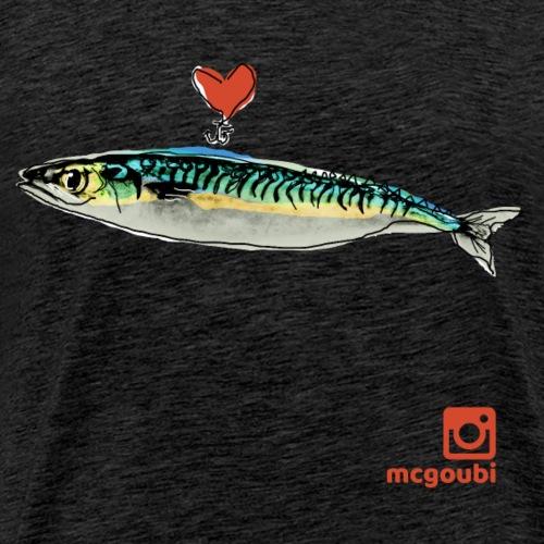 mackerel - Men's Premium T-Shirt