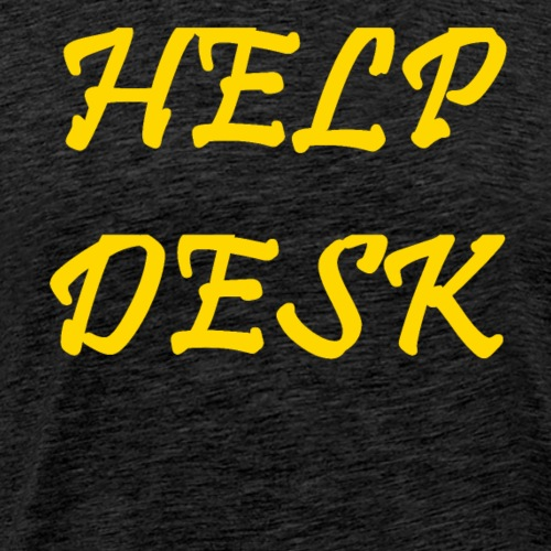 Help Desk - Men's Premium T-Shirt