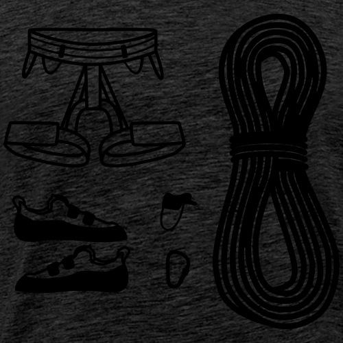 Climbing Gear - Men's Premium T-Shirt