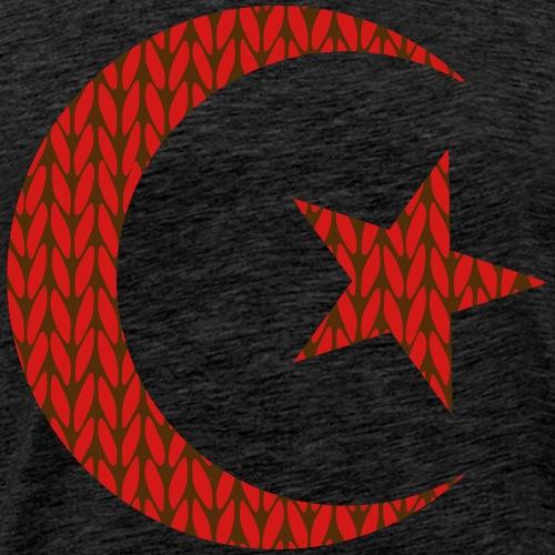 Star and crescent - Men's Premium T-Shirt