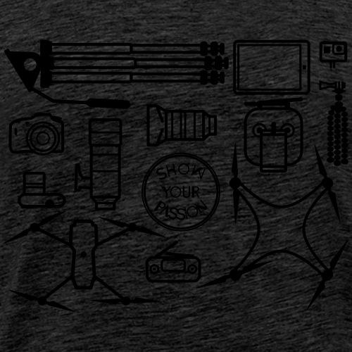 Vlogger - Men's Premium T-Shirt