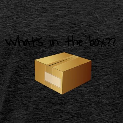 What's in the Box? - Men's Premium T-Shirt