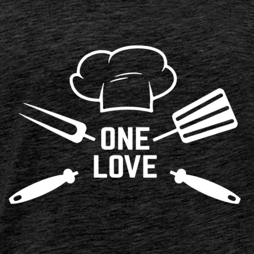 Chef One love - Men's Premium T-Shirt
