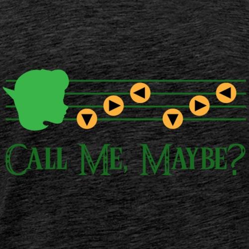 Saria Call Me Maybe? - Men's Premium T-Shirt