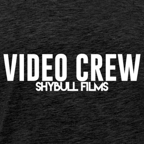 Video Crew White - Men's Premium T-Shirt