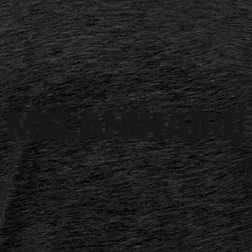 Melaninaire (Black Letters) - Men's Premium T-Shirt