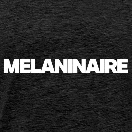 Melaninaire (White Letters) - Men's Premium T-Shirt