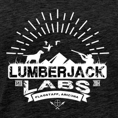 Lumberjack Labs Dogs, Ducks & Mountains - Men's Premium T-Shirt