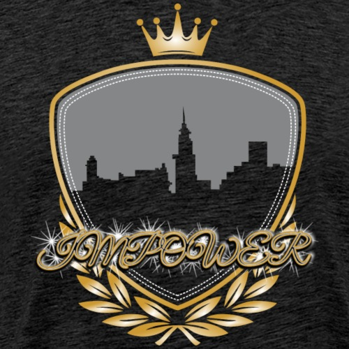 Impower Cityscape Design - Men's Premium T-Shirt