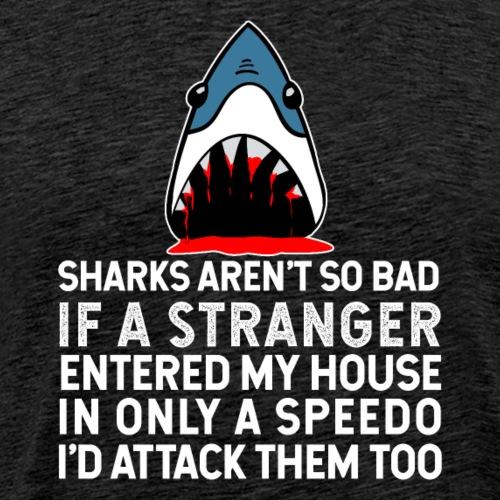 Sharks Aren't So Bad - Men's Premium T-Shirt