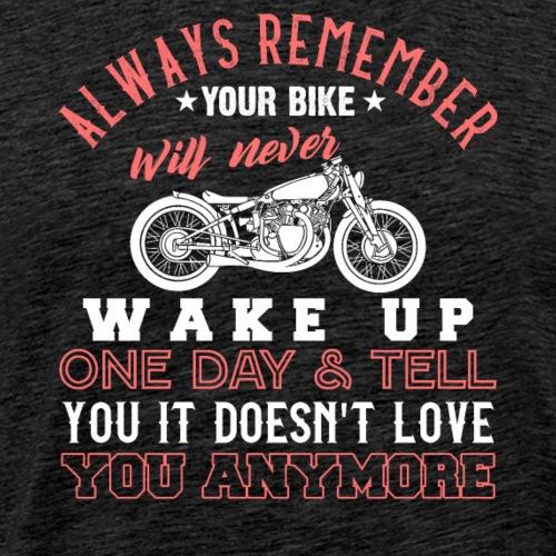 Classic Motorcycle Love Forever - Men's Premium T-Shirt