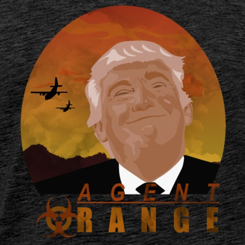 trump agent orange - Men's Premium T-Shirt