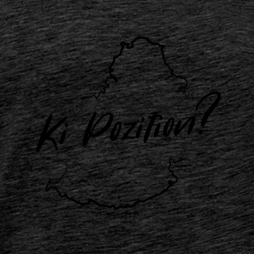 Ki Position? - Black - Men's Premium T-Shirt