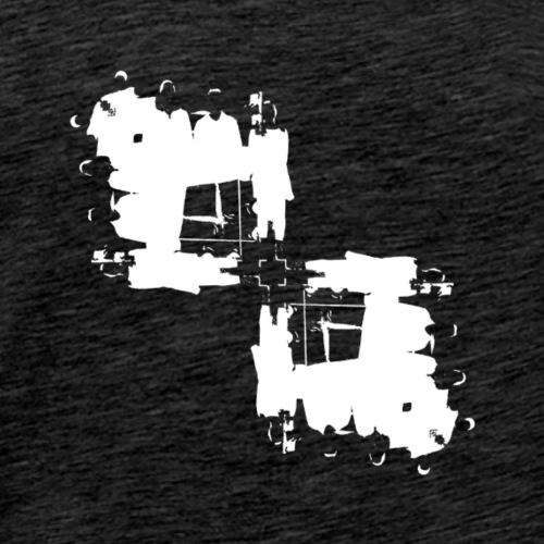 DDX Rorschach Left Slant - Men's Premium T-Shirt