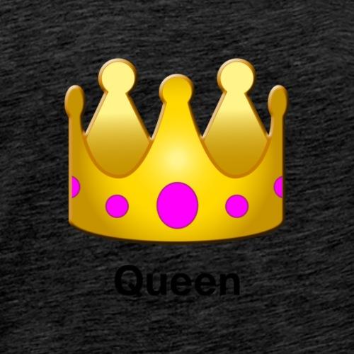 Queen Crown Design - Men's Premium T-Shirt