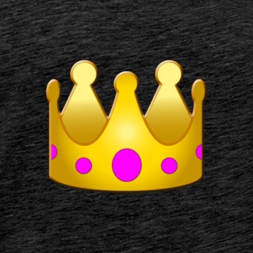 Golden Crown Design - Men's Premium T-Shirt