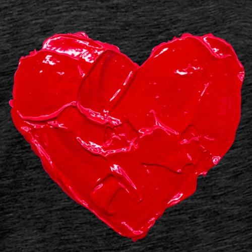 Heart Art - Love - Men's Premium T-Shirt