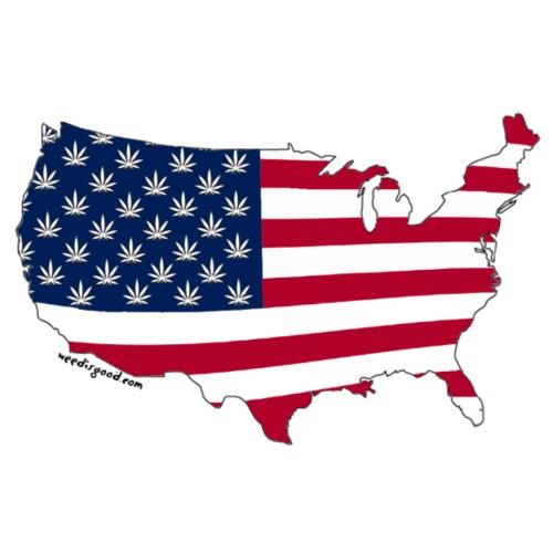 Weed America - Men's Premium T-Shirt