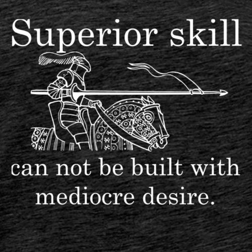 Superior Skill Knight - White - Men's Premium T-Shirt