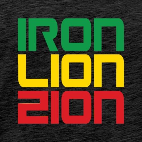 Iron Lion Zion - Men's Premium T-Shirt