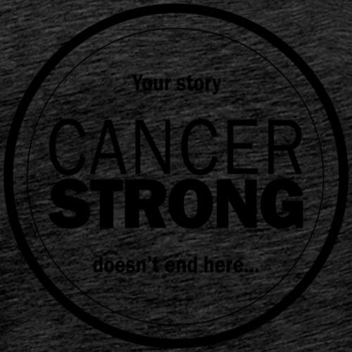 black logo your story - Men's Premium T-Shirt