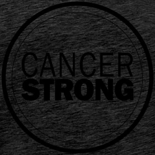 Cancer Strong Logo - Men's Premium T-Shirt