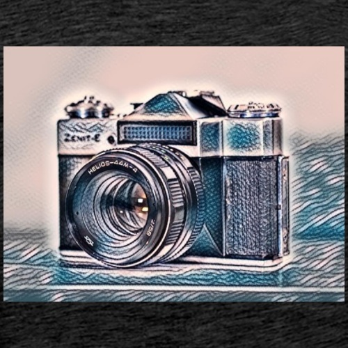 Camera art - Men's Premium T-Shirt