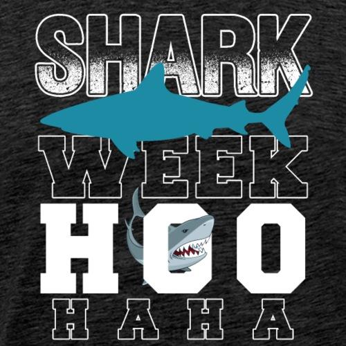 Shark Week Hoo Ha Ha - Men's Premium T-Shirt
