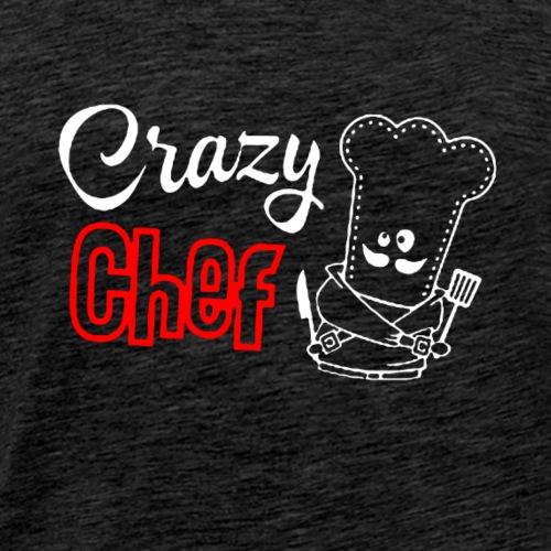 Crazy Chef - Men's Premium T-Shirt