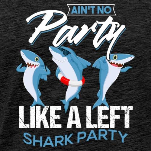 Left Shark Party - Men's Premium T-Shirt