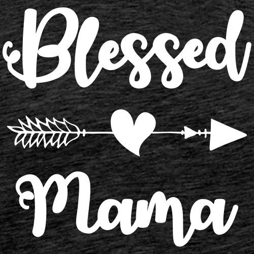 Blessed Mama - Men's Premium T-Shirt