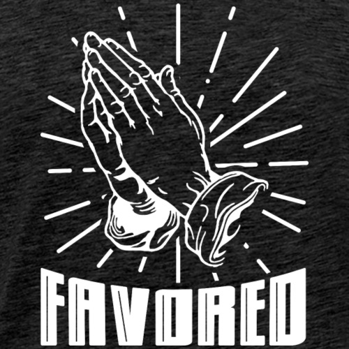 Favored - Alt. Design (White Letters) - Men's Premium T-Shirt