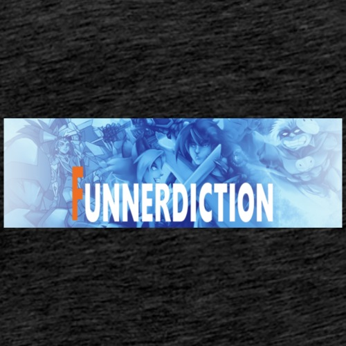 funnerdiction banner - Men's Premium T-Shirt